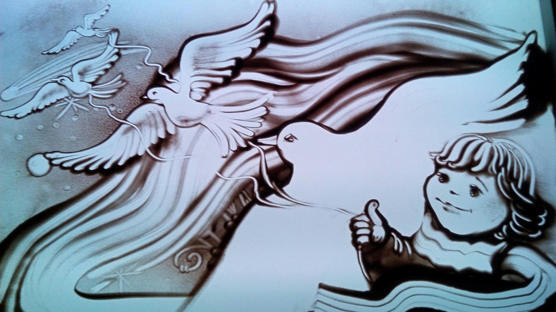 Фото красивые, рисунки песочная анимация